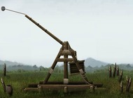 Catapult-game-in-the-middle-ages-crush-the-castle