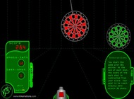 Dart-game-with-a-moving-target